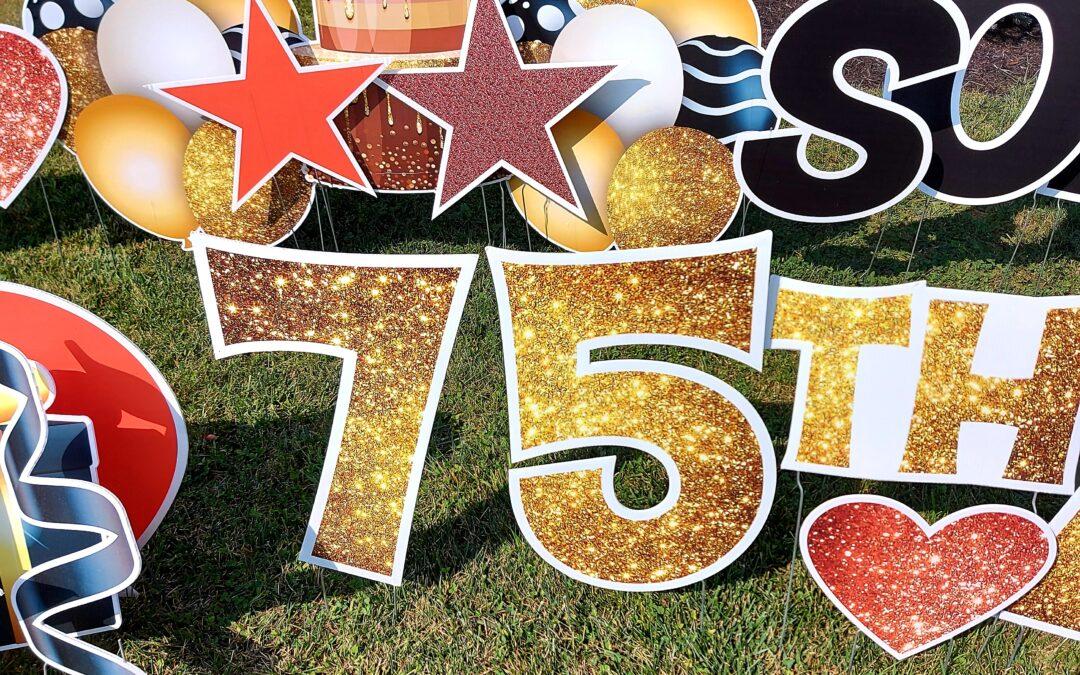 September Social – celebrating 75 years